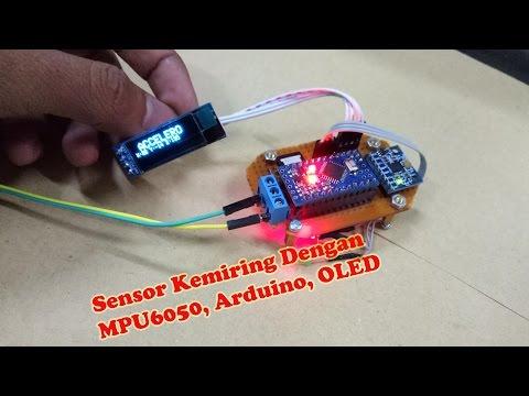 Sensor Keseimbangan Dengan Menggunakan OLED, Arduino, GY-521