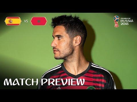 Monir El Kajoui (Morocco) - Match 36 Preview - 2018 FIFA World Cup™
