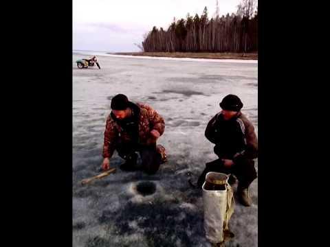 Зимняя рыбалка усть алтан