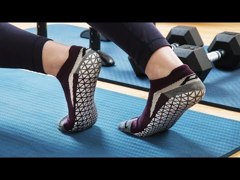 Pedestal Footwear | Indoor Training Grip Socks