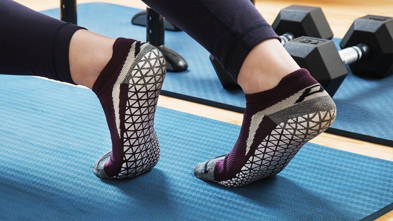 Indoor Training Grip Socks