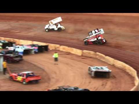 Carolina No Bull Sprint Series at Friendship Speedway 8/5/17