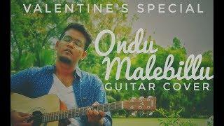 Ondu malebillu | Chakravarthy | Guitar Instrumental cover