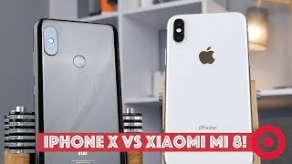 Xiaomi Mi 8 против iPhone X — король повержен?