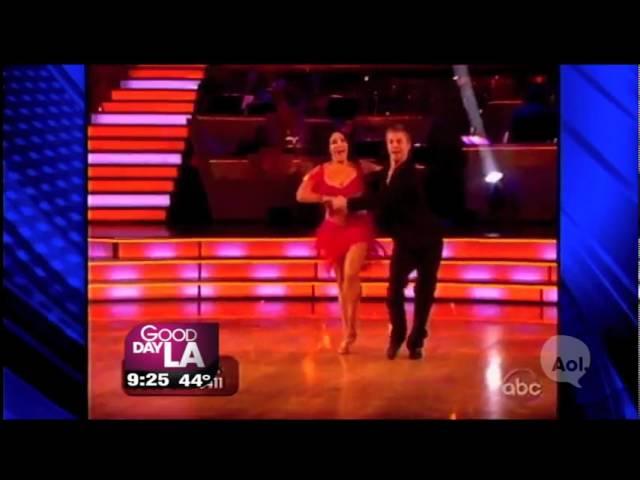 Derek Hough:  Maria Menounos Has Insane Dancing With The Stars Work Ethic