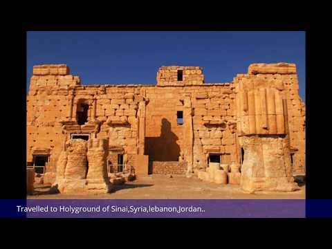My old travel to Holy Ground of MT.Sinai,Syria,Jordan,lebanon..