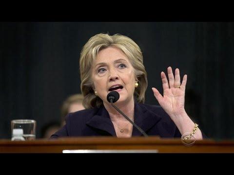 Clinton testifies before Benghazi committee