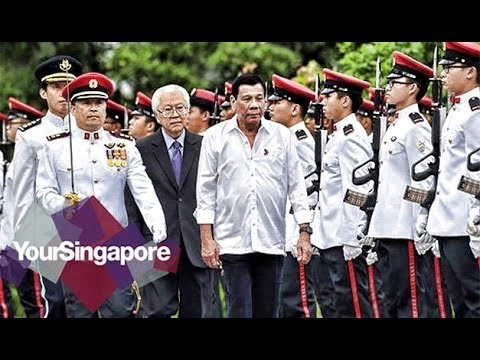 WOW NAPAKAGANDA NG WELCOME CEREMONY NI DUTERTE SA SINGAPORE