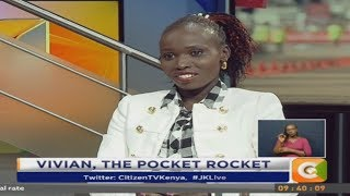 JKL | One on One with London Marathon winner Vivian Cheruiyot#JKLive