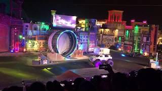 Bike Stunt - Monster Show - Global Village Dubai - Car & Bike Stunt 2019 - Part 2