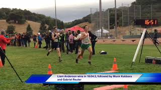 Highlights from the 2017 MCAL cross country championships #MarinXC