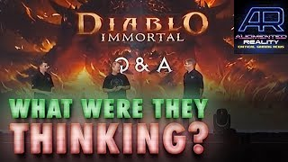 Podcast 80: Blizzard's Diablo: Immortal FAIL Wouldn't Have Happened 5 Years Ago; CP77 Skill Trees