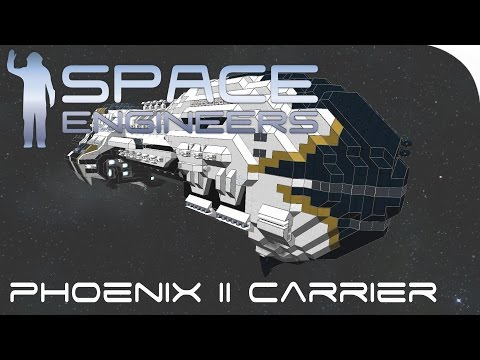Space Engineers Spotlight | 'Phoenix II Drone Carrier' By Dark Lord