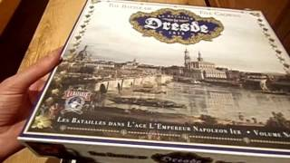 La Bataille de Dresde 1813 Unboxing - Clash Of Arms Games - a Napoleonic wargame WITB