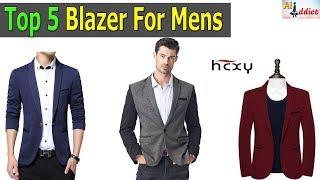 Top 5 New Arrival Mens Blazer Under $30 - Fit Blazers | Fashion Men 2018 Summer