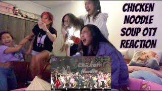 NON-STOP SHOUTING!!! | BTS (방탄소년단) 'CHICKEN NOODLE SOUP OT7'…