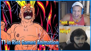 Tyler1 Sees Himself in Rito Animation   Yassuo gets Trolled by SKT Effort   LoL Daily Moments Ep 671
