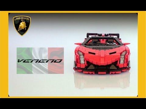LEGO Ideas – Lamborghini Veneno Roadster