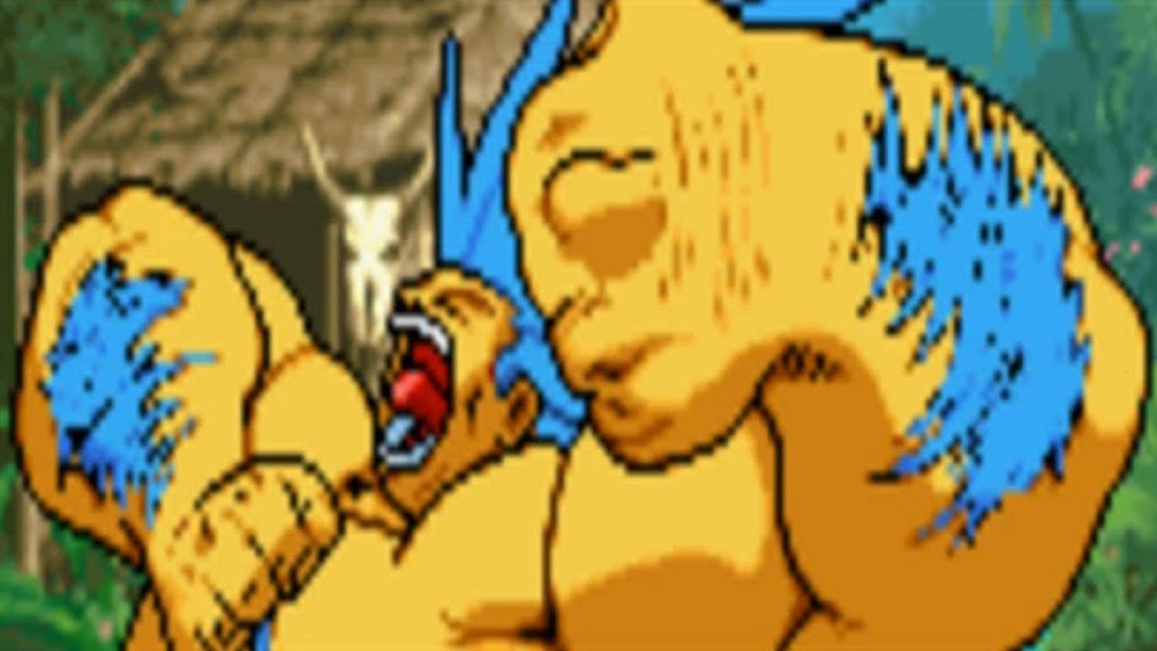 Street Fighter Alpha 3 Blanka Gba Youtube
