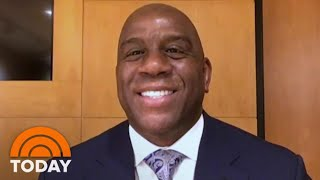 Magic Johnson On His Friendship With Michael Jordan And When The NBA Will Come Back | TODAY