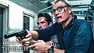 CASTLE FALLS Official Trailer (2022) Scott Adkins, Dolph Lundgren Action Movie HD