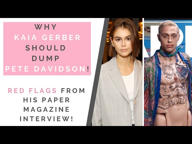 RED FLAGS FROM PETE DAVIDSON & KAIA GERBER\: Love Bombing & Borderline Personality Disorder | Shallon