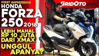 Honda Forza 250 2018 l First Impression Review l GridOto