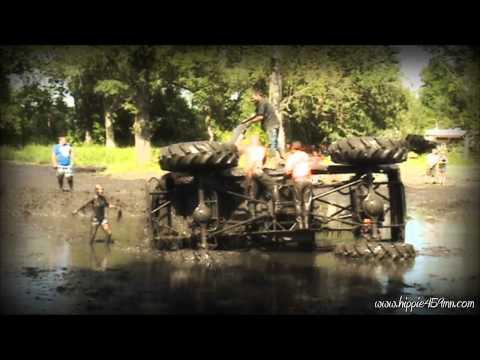 Dominator run and wreck at Crown Mud Bog 8-18-2012