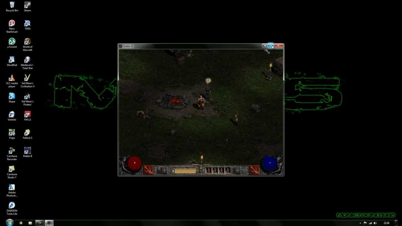 Diablo 2 - How to fix graphic issues