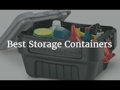 Best Storage Containers 2018