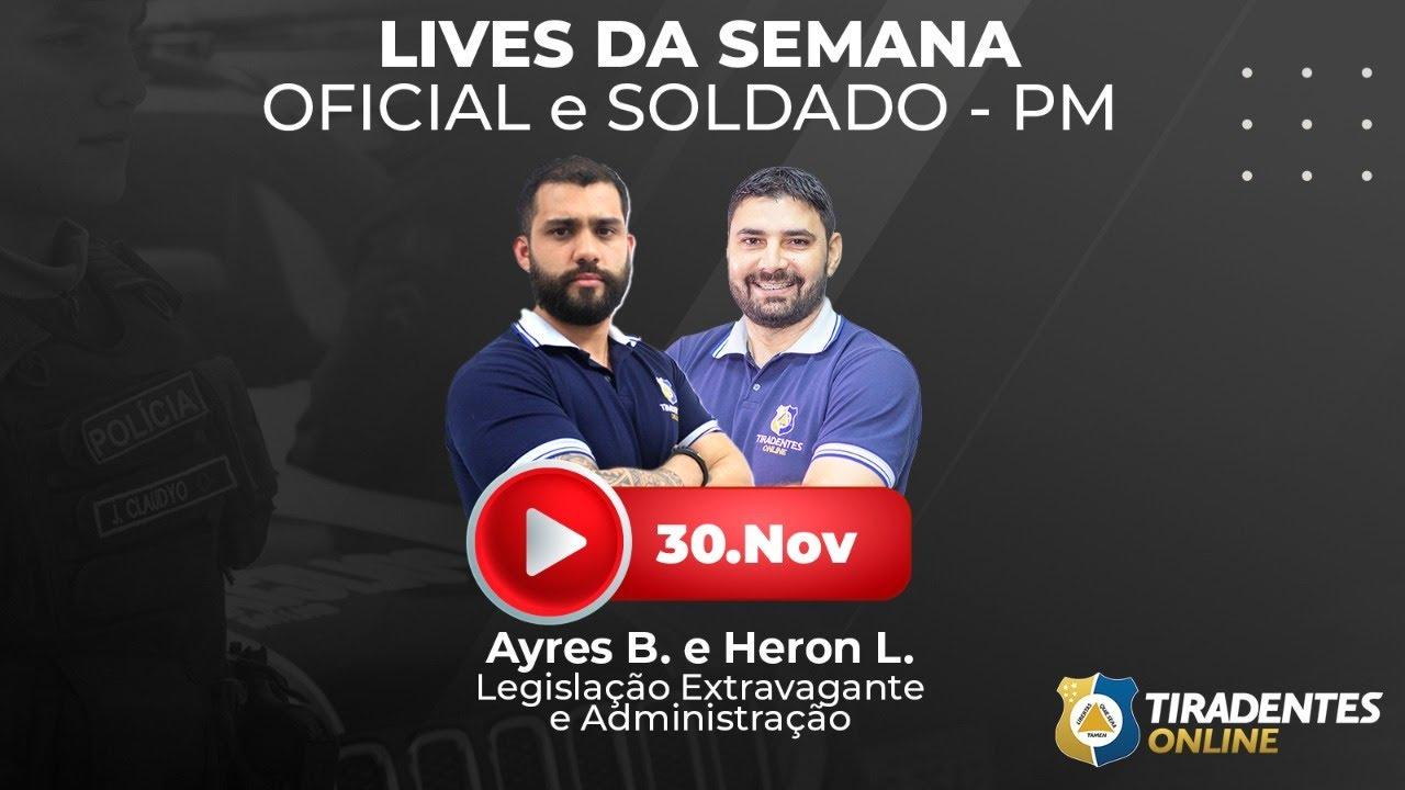 TIRADENTES ONLINE   LIVE SEMANA PM-CE SOLDADO E OFICIAL   RAIO X