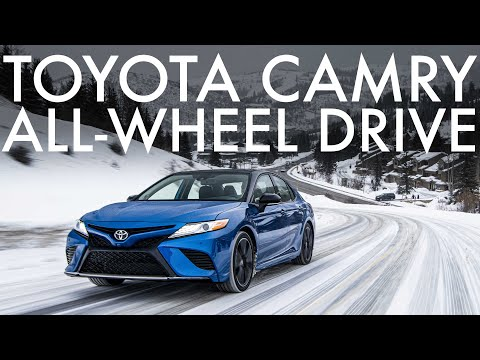 We Drove The New All-wheel Drive 2020 Toyota Camry