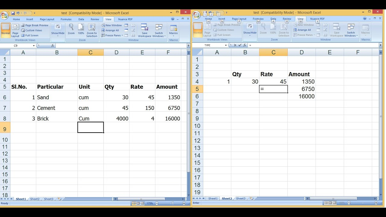 How To Link Formulas Inbetween Worksheets In Ms Excel