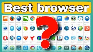 Fastest & best Android Web browser 2017 || Alternate of UC browser