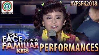 Your Face Sounds Familiar Kids 2018: Onyok Pineda as Jolina Magdangal | Chuva Choo Choo
