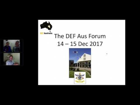 DEF Australia Idea Pitchers Webinar 2017