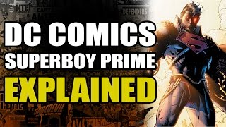 vuclip DC Comics: Superboy Prime Explained
