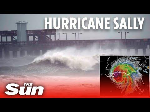 Hurricane Sally Makes US Landfall At 105 Mph Flooding Towns