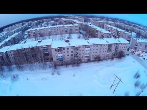 Полёт TBS на горе Красноуральск