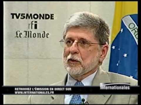 2 - Entrevista do Ministro Celso Amorim à TV5 Monde