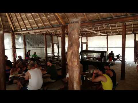 Mayan Adventure Mexico Lunch Playa del Carmen Mexico May 2017 4K
