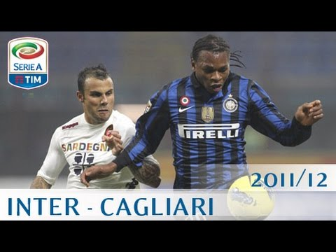 Inter Cagliari Serie A 2011 12 Eng Youtube