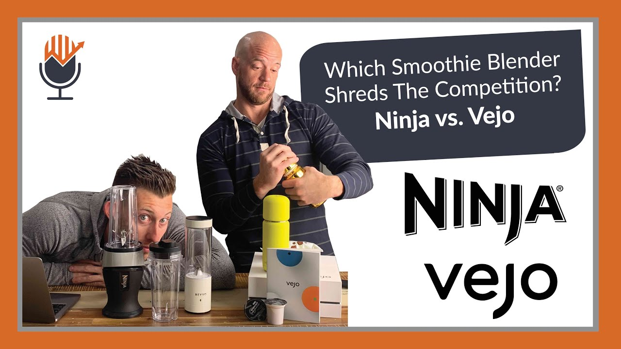 Which Smoothie Blender Shreds The Competition Ninja vs Vejo