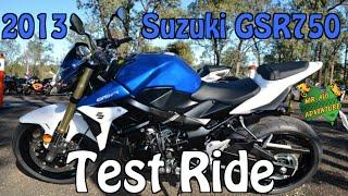 Suzuki GSR750 2014 Videos