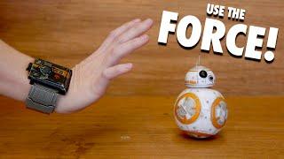 CONTROL BB-8 USING THE FORCE! (SPHERO DEMO)