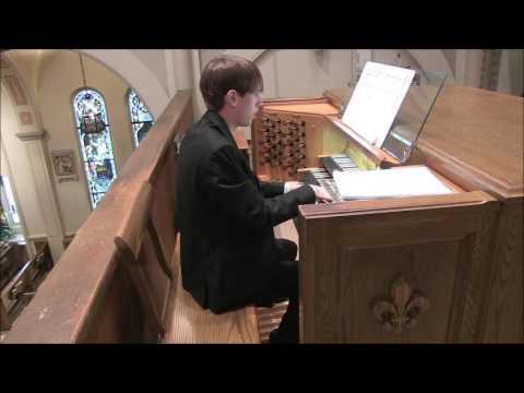 Collin Miller Organ Recital 10/25/15