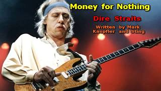 Money for Nothing (radio edit version) - Dire Straits (Karaoke) HD