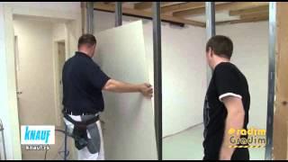 Knauf - Izrada Pregradnog zida GKP