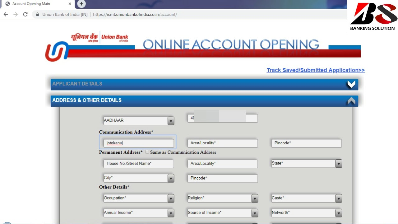 Ubi Online Account Opening Banking Solution Youtube
