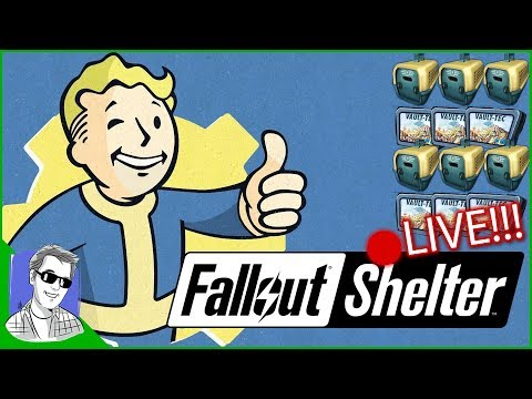 🔴 Fallout Shelter LIVE A Real Who's Who Of Fallout Shelter
